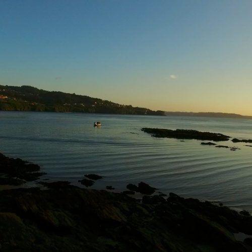 Atardecer en Playa Rio Castro