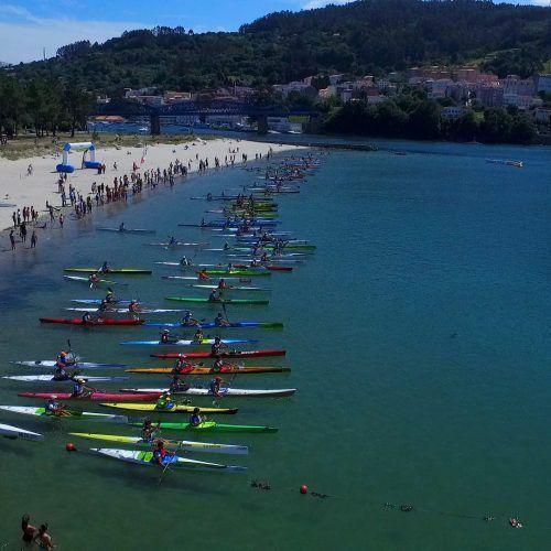 Campeonato gallego de kayak 2017